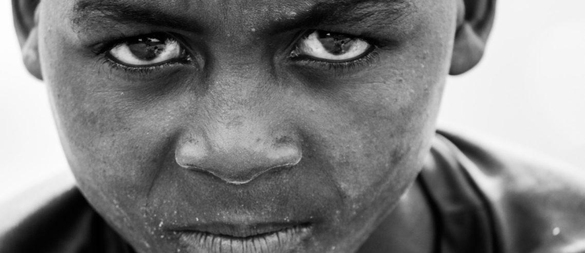 Armut ins Gesicht sehen